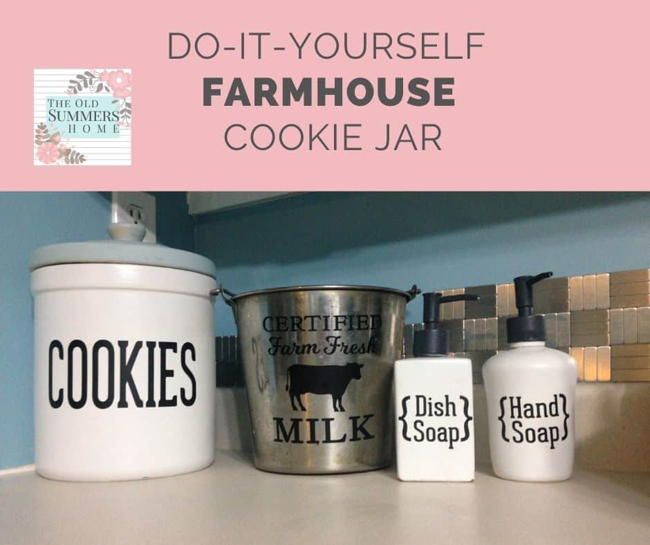 DIY Cookie Jar