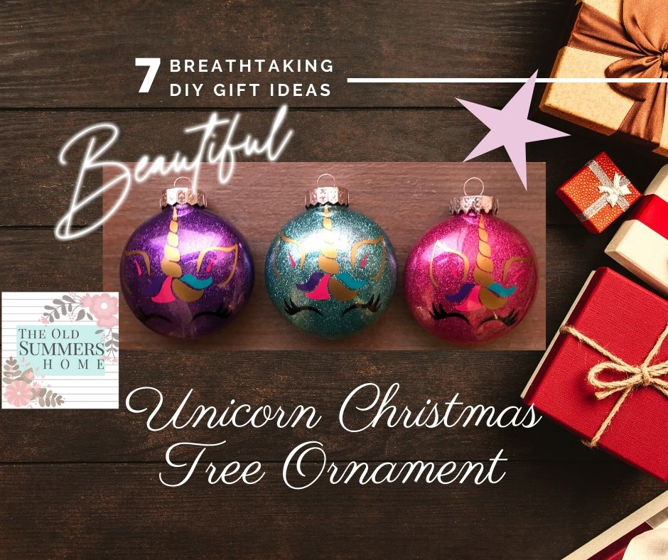 Our beautiful Unicorn Christmas tree ornaments are perfect for the unicorn lovers in your life!