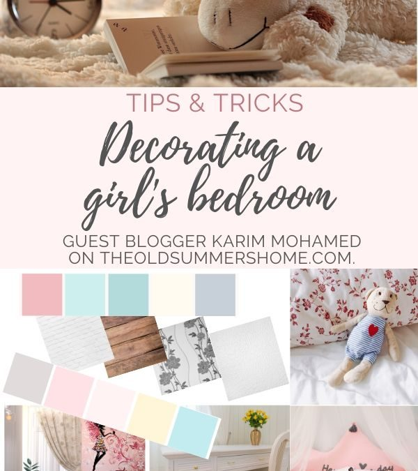 Deciding how to decorate a girl'd bedroom doesn't have to be hard here are 11 cute and easy ideas to give your little girl a room she loves that will grow with her over the years!