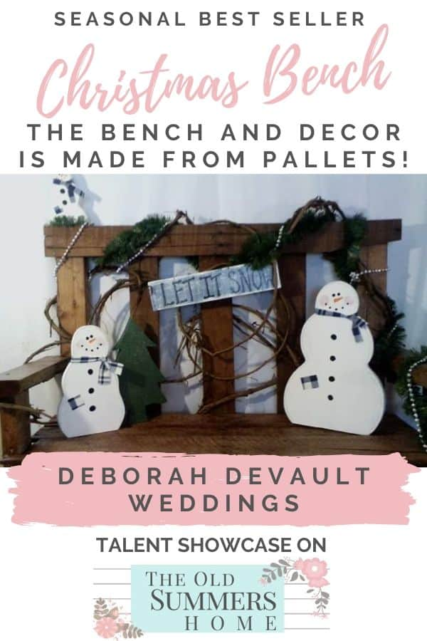 Featuring Deborah DeVault Weddings on The Old Summers Home, sharing her passion for wedding planning and DIY projects!