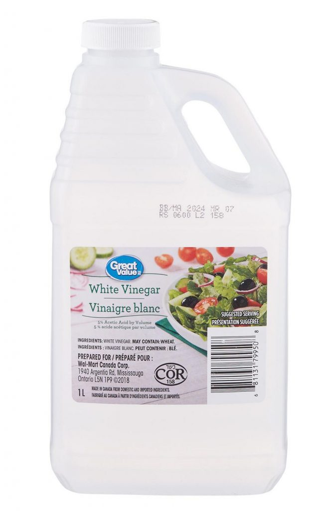 Vinegar is a great natural product for cleaning. When paired with baking soda the two are unstoppable. Spring cleaning is a great time of year to give those countertops a deep clean.