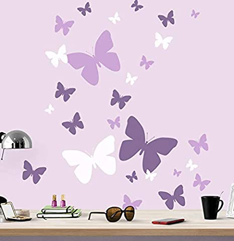 Purple Bedroom Ideas for Teenage Girls 1 41AaBzQaYL. AC SX466 The Old Summers Home Purple bedrooms make a statement! Before you start that makeover, check out these purple bedroom ideas for teenage girls. She will love her new bedroom decor!