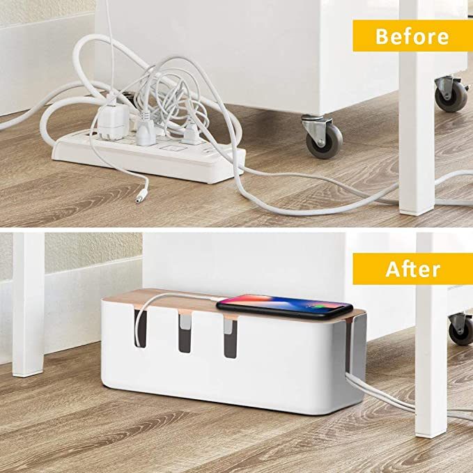 12 Creative Under Desk Storage Ideas 7 61dSNmDACL. AC SX679 The Old Summers Home We've gathered up some of the best under desk storage ideas on the internet to help you make the most of your limited home office space.