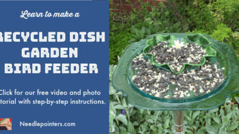 12 Easy DIY Bird Feeders to Make Today 1 Recycled Dish Bird Feeder Tutorial Facebook The Old Summers Home Creating a space that's inviting to birds isn't hard to do. Simply provide food and the birds will come. Make one of these 12 easy DIY bird feeders today!
