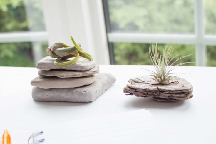 Office Decorating Ideas on a Budget 10 Rock stack paperweight SustainMyCraftHabit 1543 1024x683 1 The Old Summers Home Make your workspace more enjoyable with these office decorating ideas on a budget. You'll be more productive with a pleasant work atmosphere!