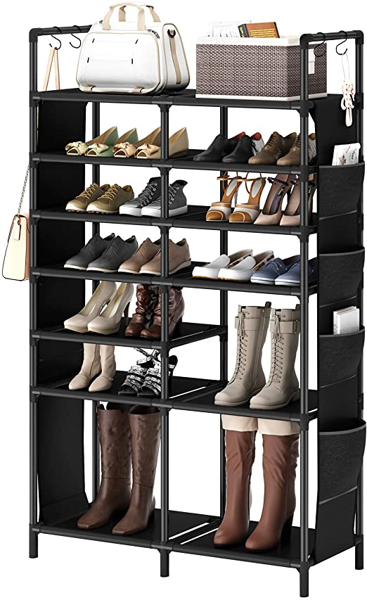 Clever Shoe Organization Ideas 4 719 aCy3fdL. AC SX522 The Old Summers Home Get organized with this list of suggestions, products and DIY projects to help you organize shoes all over your house.