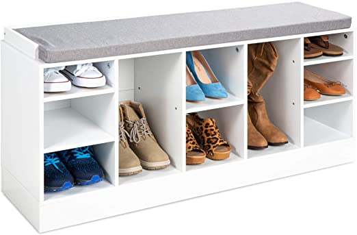 Clever Shoe Organization Ideas 5 71y6G5E0RrL. AC SX522 The Old Summers Home Get organized with this list of suggestions, products and DIY projects to help you organize shoes all over your house.