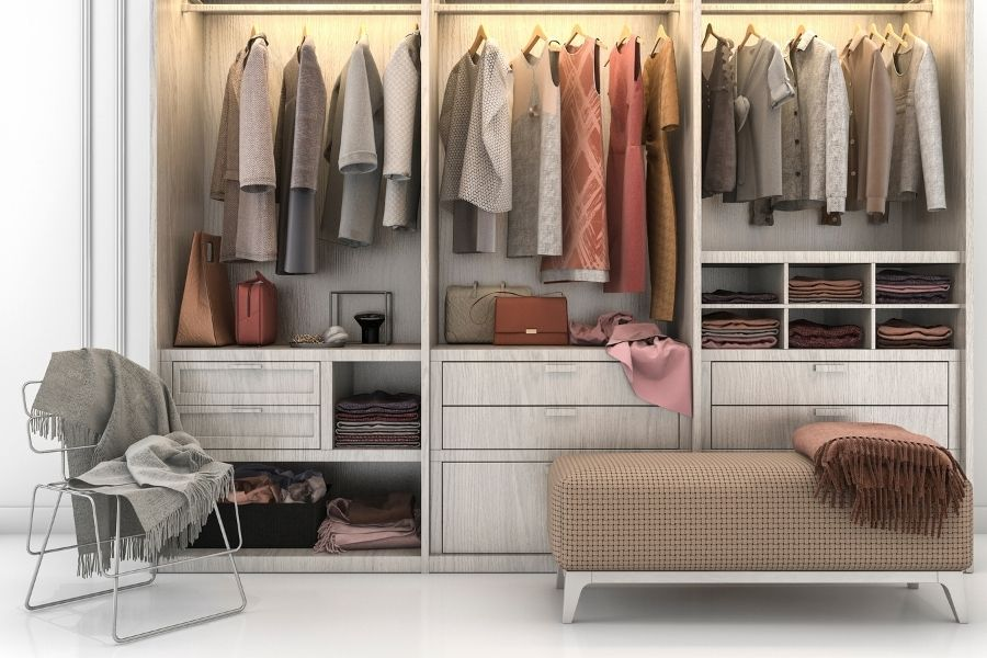 20+ Best Closet Shelf Ideas for Organization 1 closet shelf ideas The Old Summers Home If you are ready to make the most of your available closet space, you will love these closet shelf ideas.