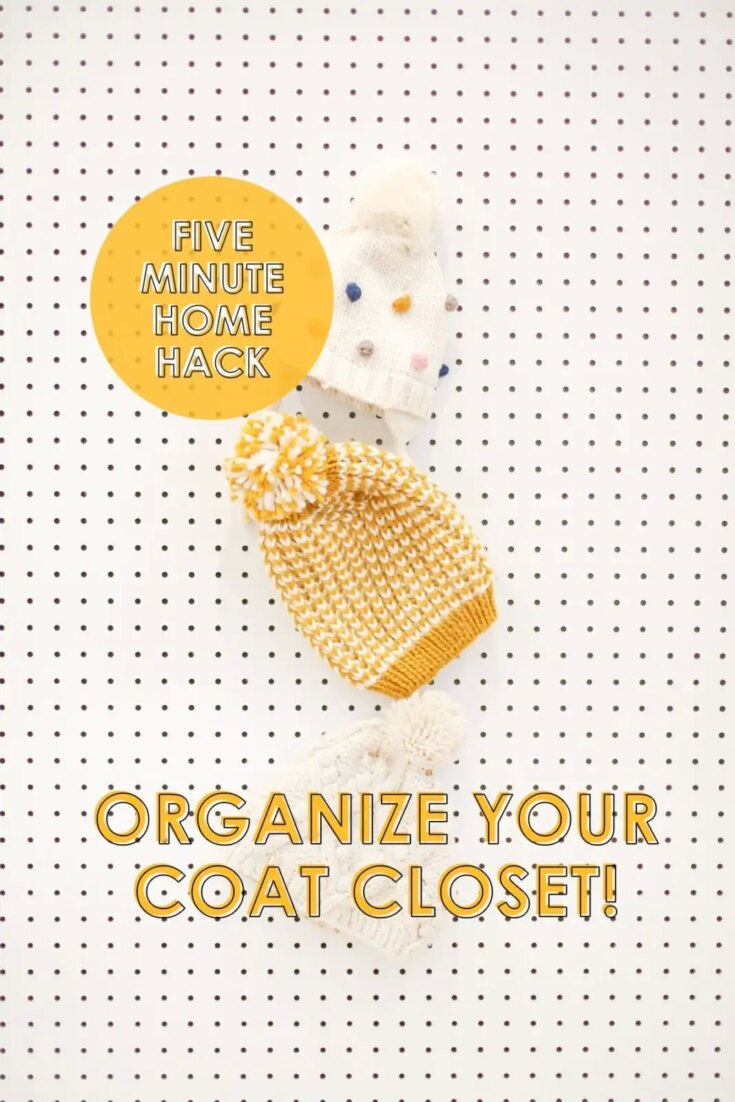 20+ Best Closet Shelf Ideas for Organization 7 five minute home hack organize coat closet scaled 1 The Old Summers Home If you are ready to make the most of your available closet space, you will love these closet shelf ideas.